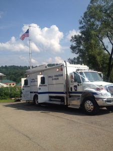 Washington County Department of Public Safety mobile command center, Unit 92-2