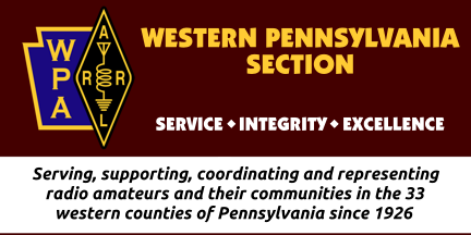 Western Pennsylvania Section News – August 4, 2018